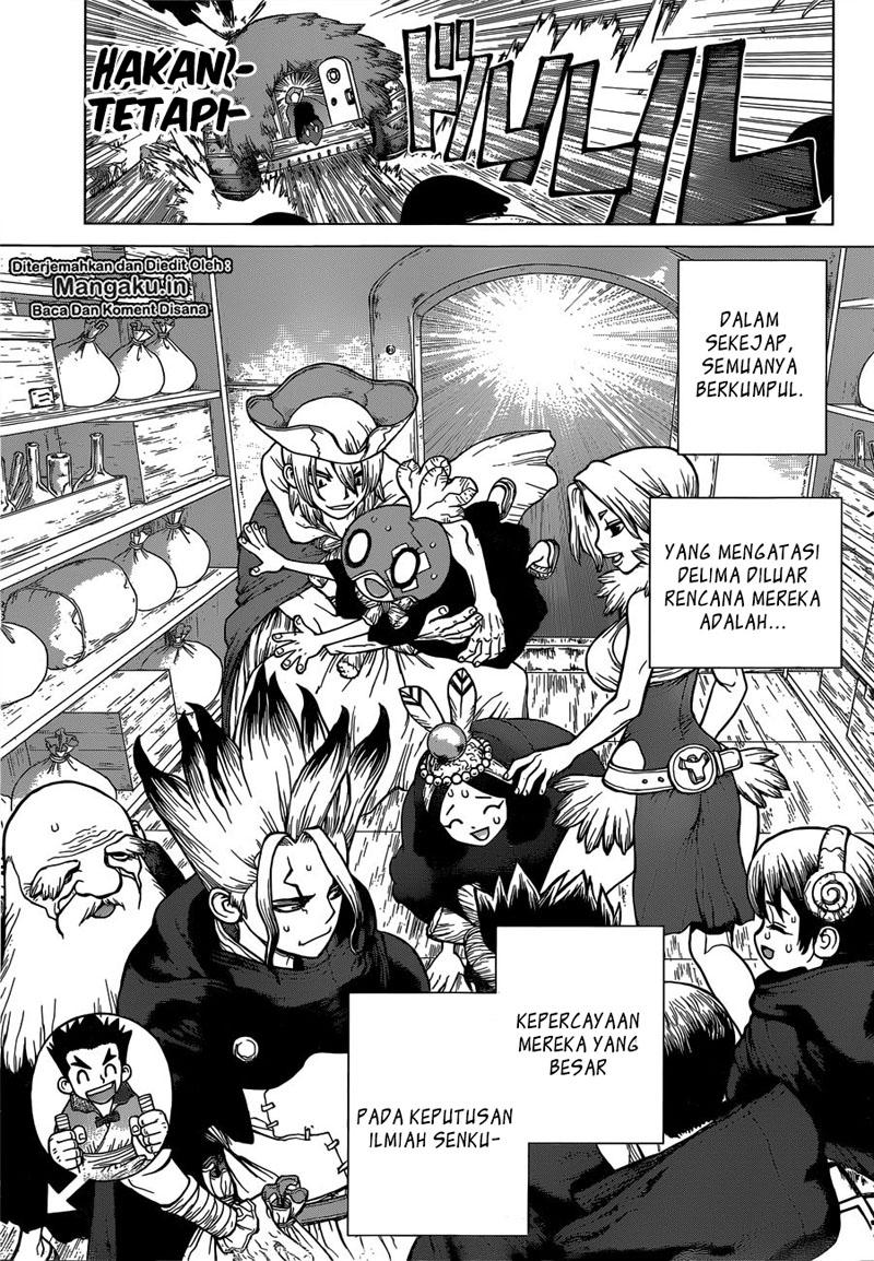 Dr. Stone Chapter 127