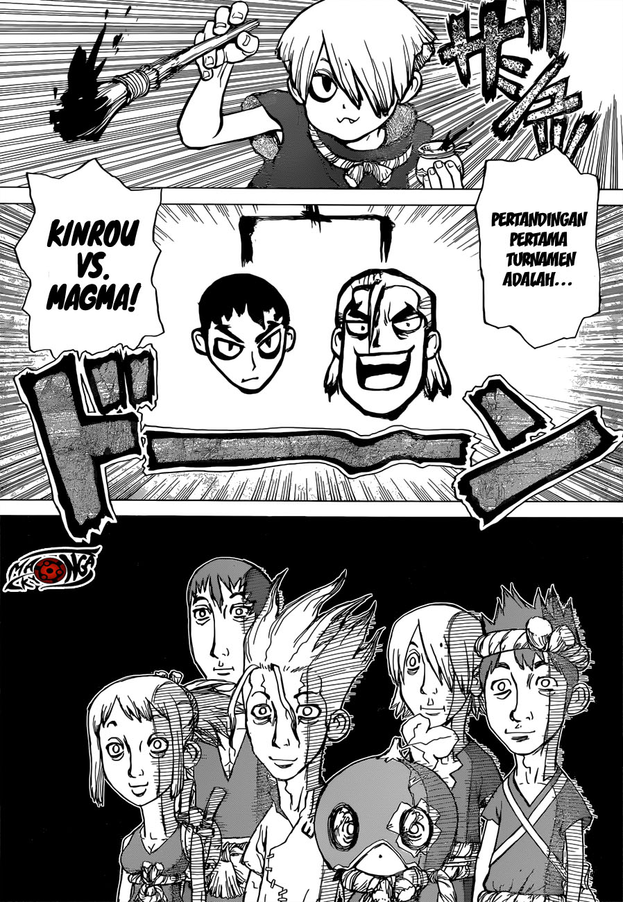 Dr. Stone Chapter 34