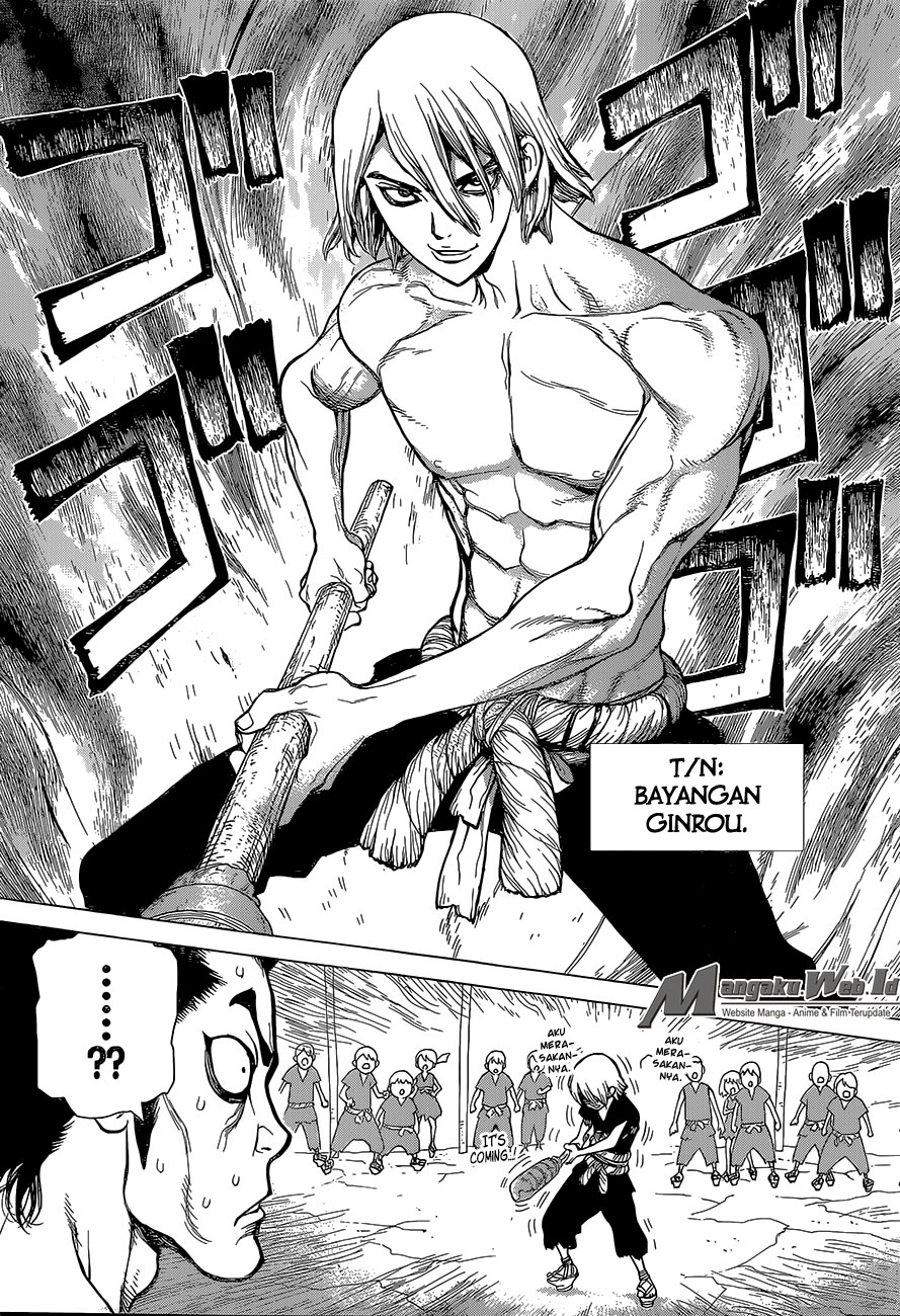 Dr. Stone Chapter 36