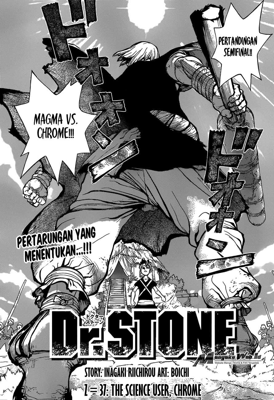 Dr. Stone Chapter 37