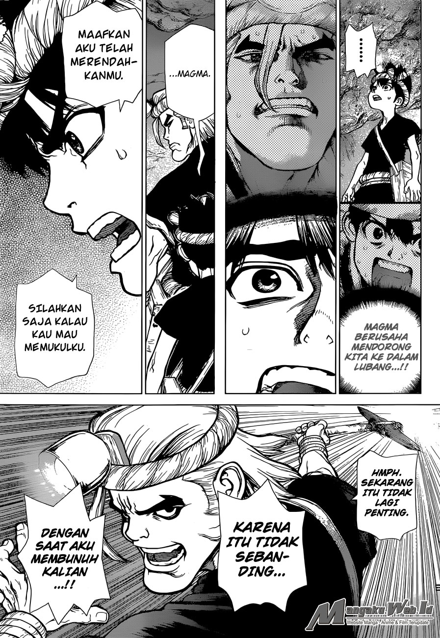 Dr. Stone Chapter 56