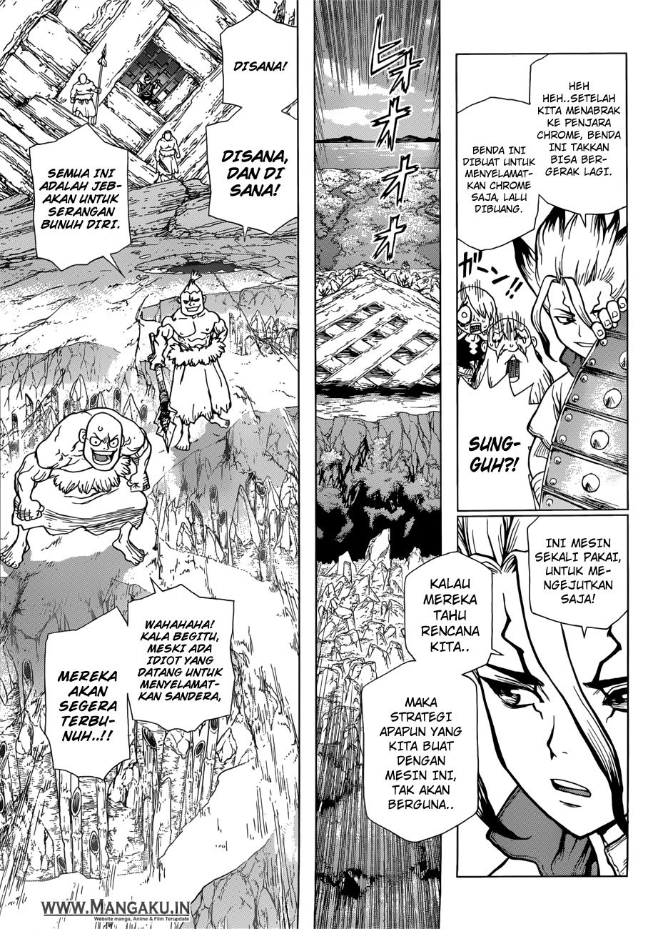 Dr. Stone Chapter 70