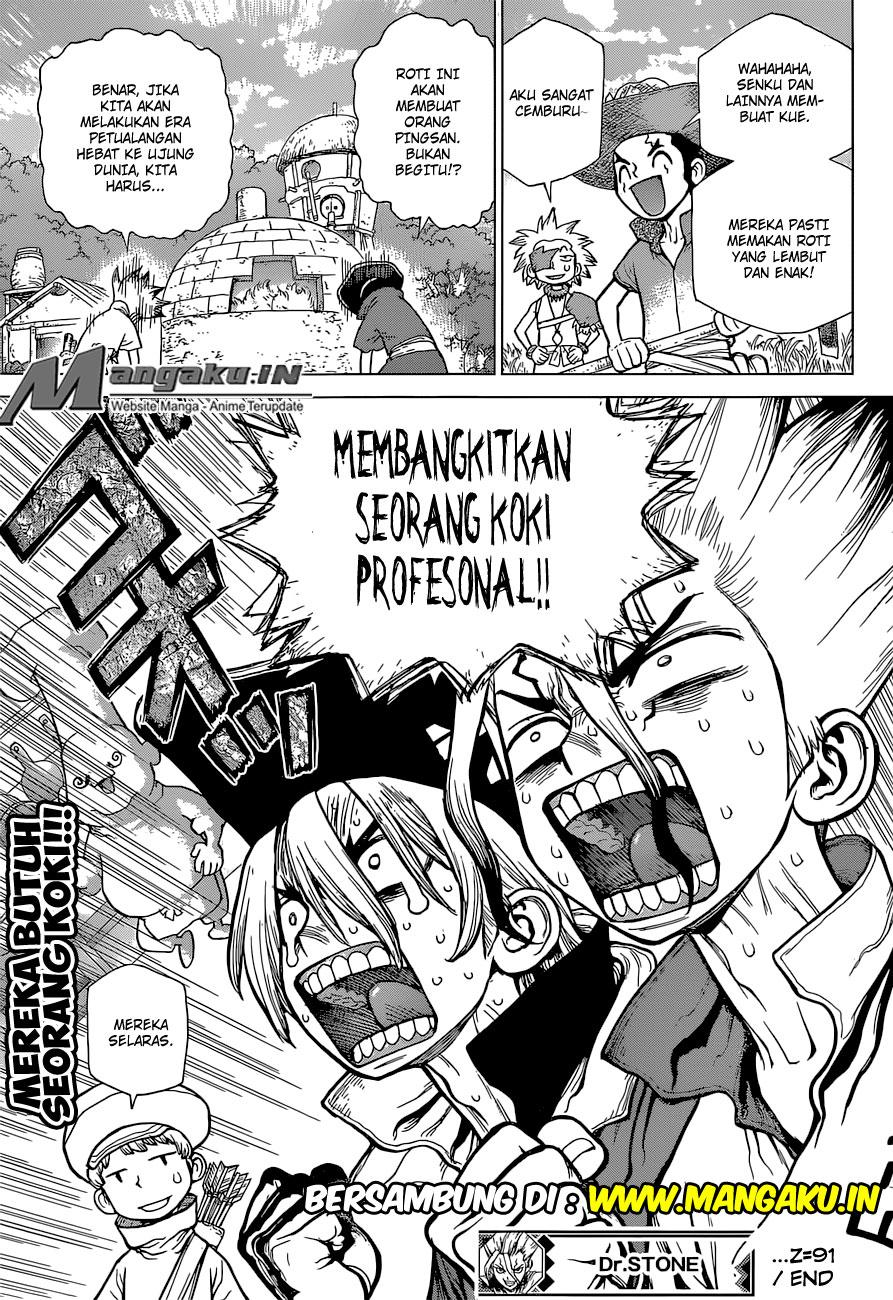 Dr. Stone Chapter 91