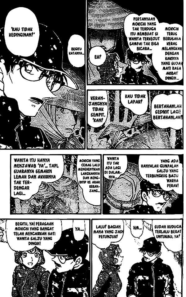 Detective Conan Chapter 521