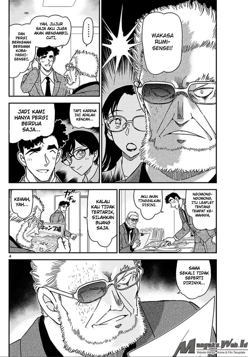 Detective Conan Chapter 987
