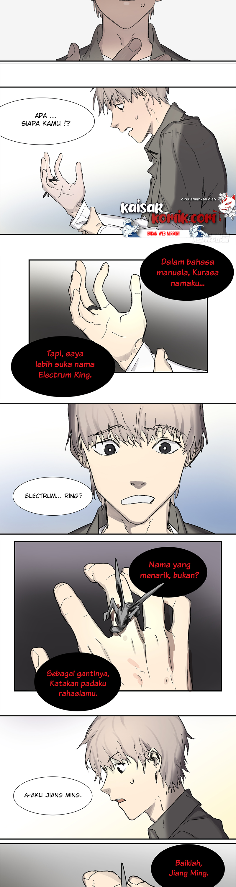 Spoiler Manhua Game of the Strong 1