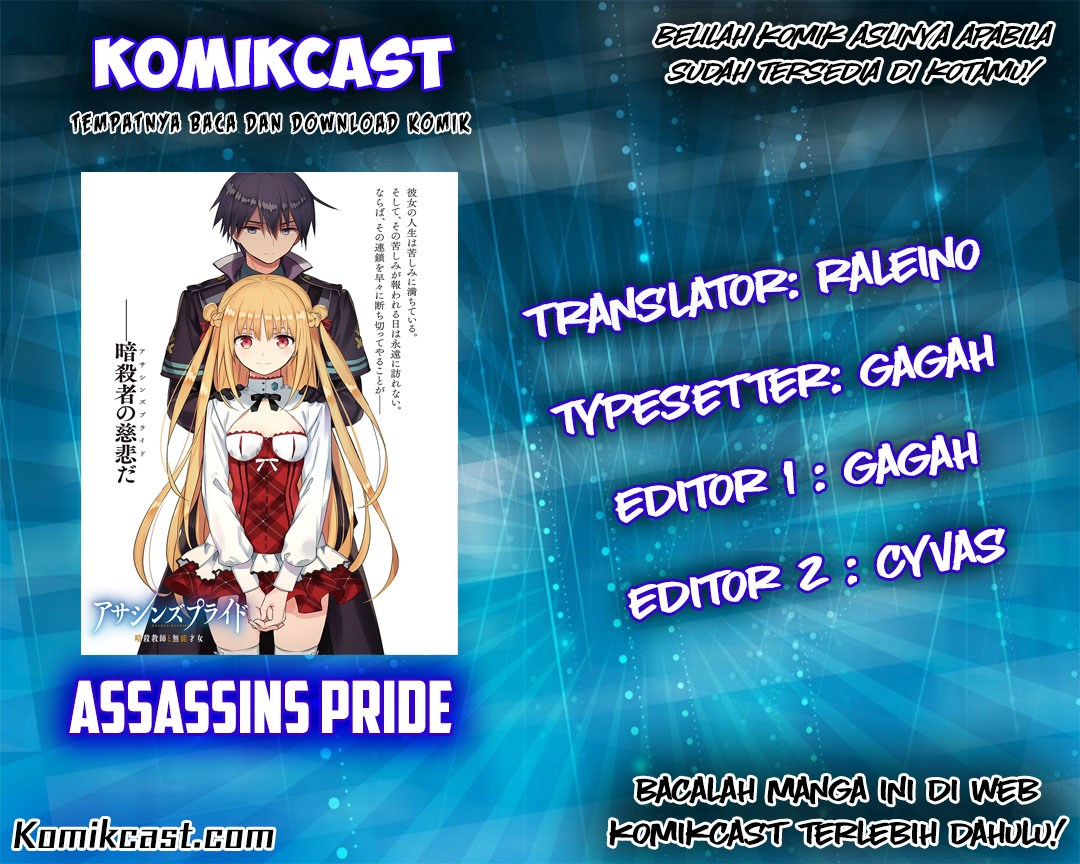 Assassin's Pride Chapter 9