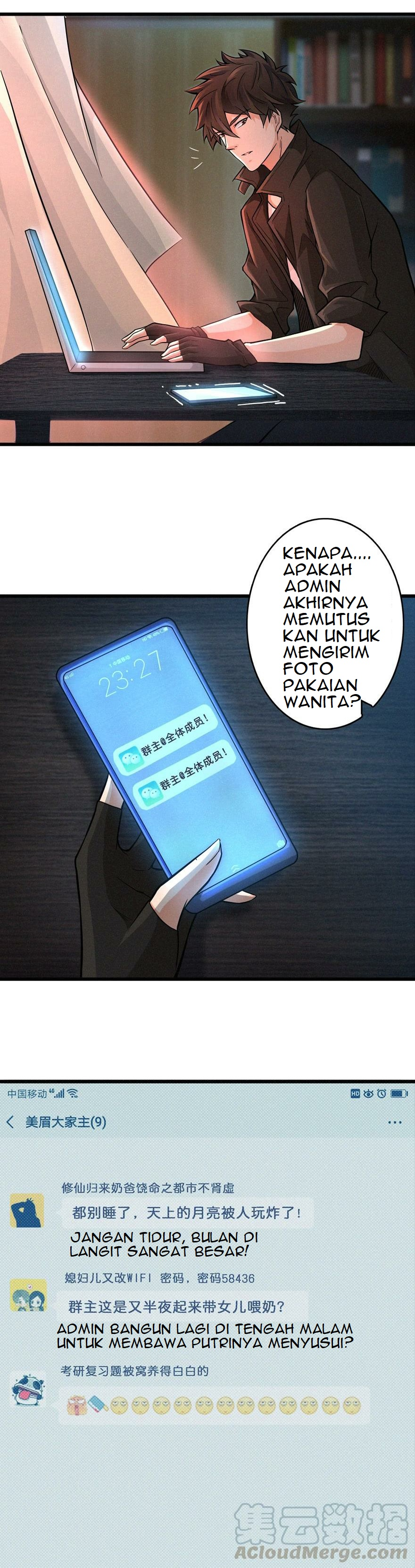 Spoiler Manhua There's A Demons Here 4