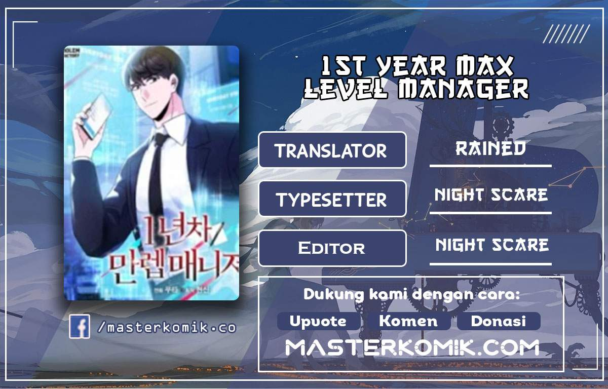 1st Year Max Level Manager Chapter 9