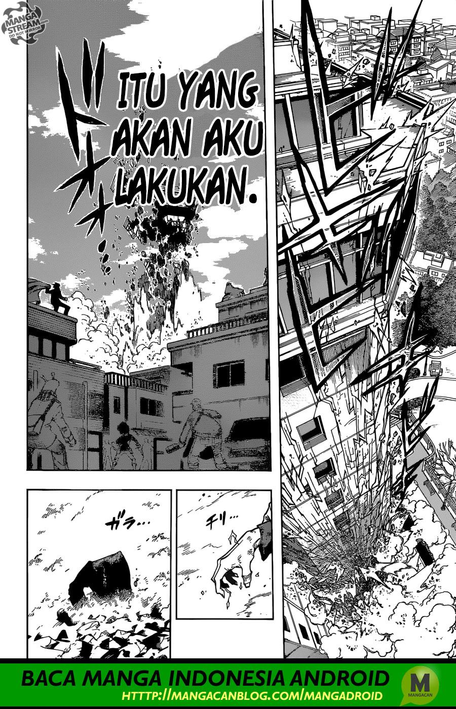 Boku no Hero Academia Chapter 232