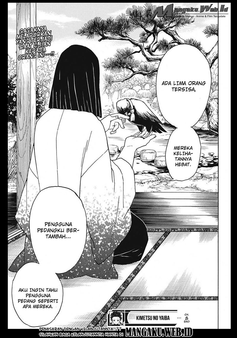 Kimetsu no Yaiba Chapter 8