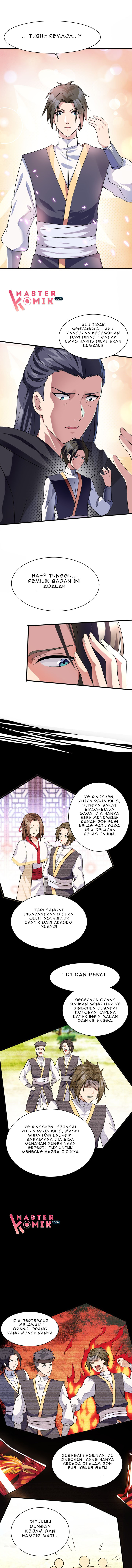 Spoiler Manhua Chaos Golden Crow 2