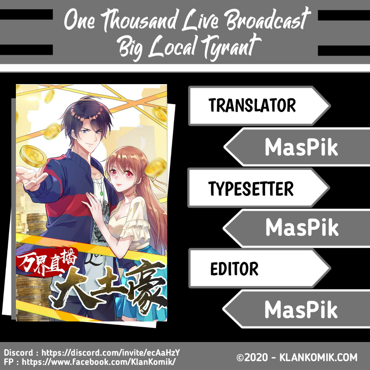 One Thousand Live Broadcast Big Local Tyrant Chapter 15