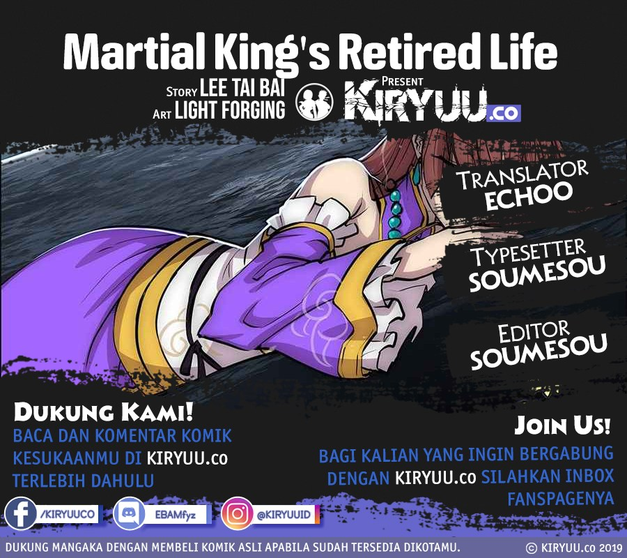 Martial King's Retired Life Chapter 114