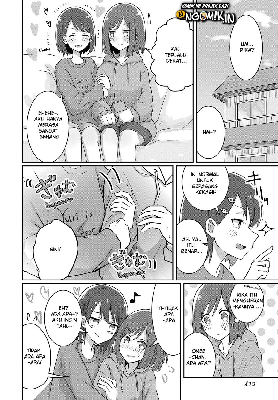 Spoiler Manga We Graduated From Being Sisters to Girlfriends 3
