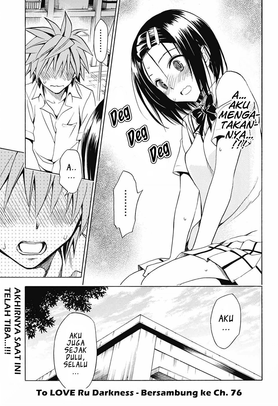 To LOVE-Ru Darkness Chapter 75