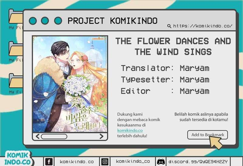 The Flower Dances and the Wind Sings Chapter 34