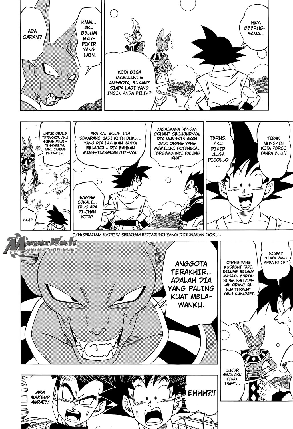 Dragonball Super Chapter 6