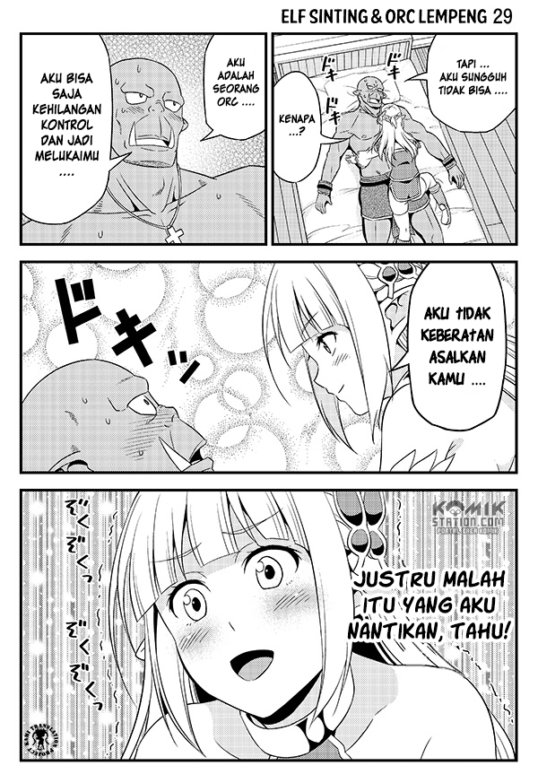 Hentai Elf to Majime Orc Chapter 4