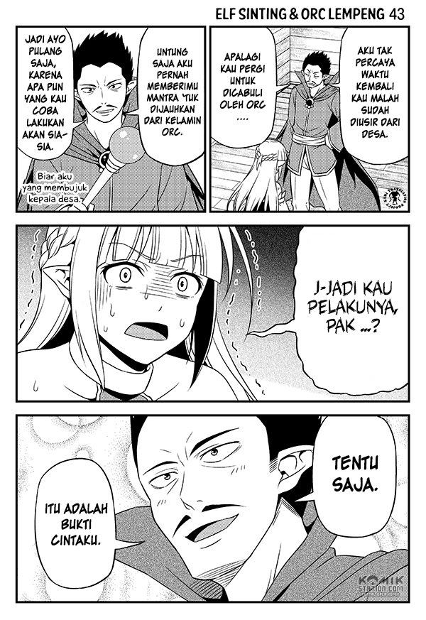 Hentai Elf to Majime Orc Chapter 6
