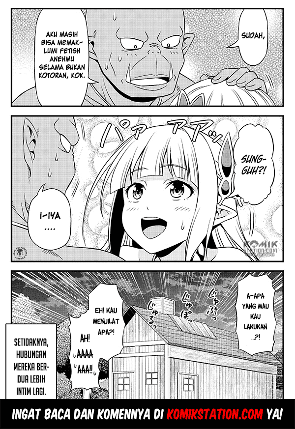 Hentai Elf to Majime Orc Chapter 9.5
