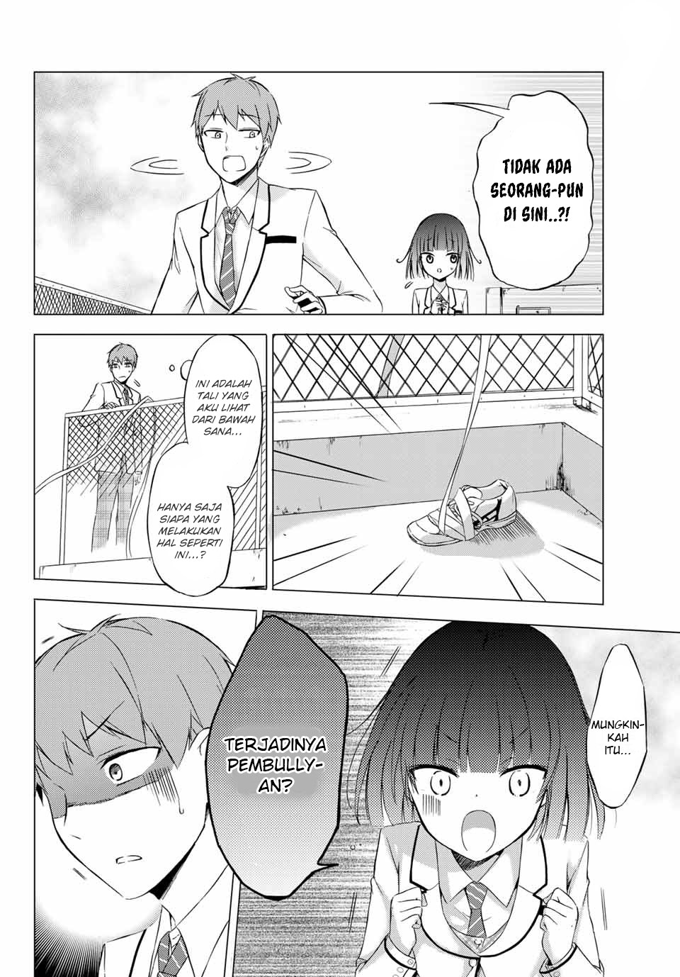 Spoiler Manga The Student Council President Solves Everything on the Bed 2
