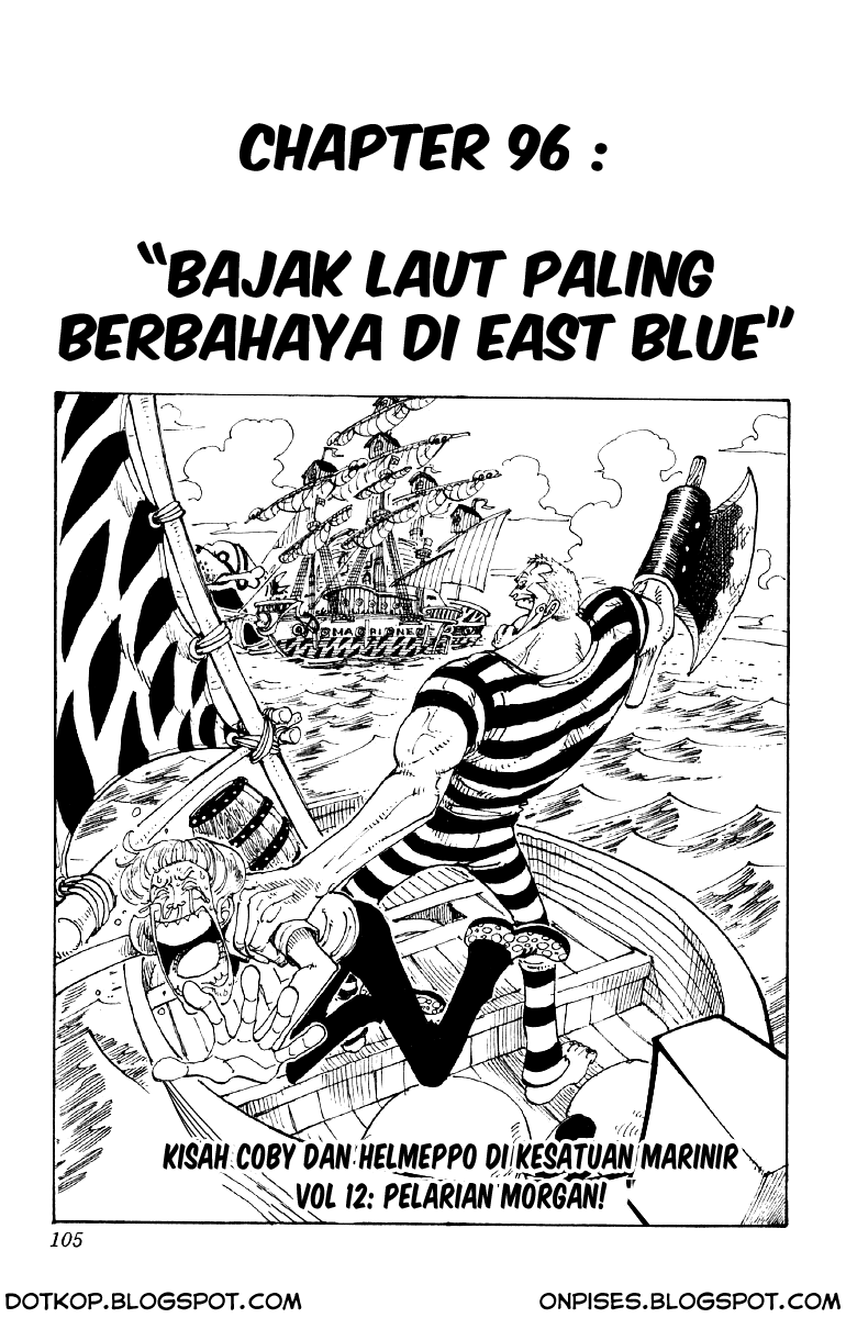 One Piece Chapter 096