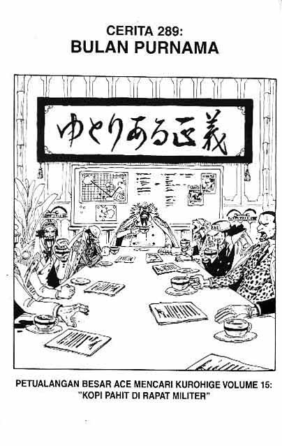 One Piece Chapter 289