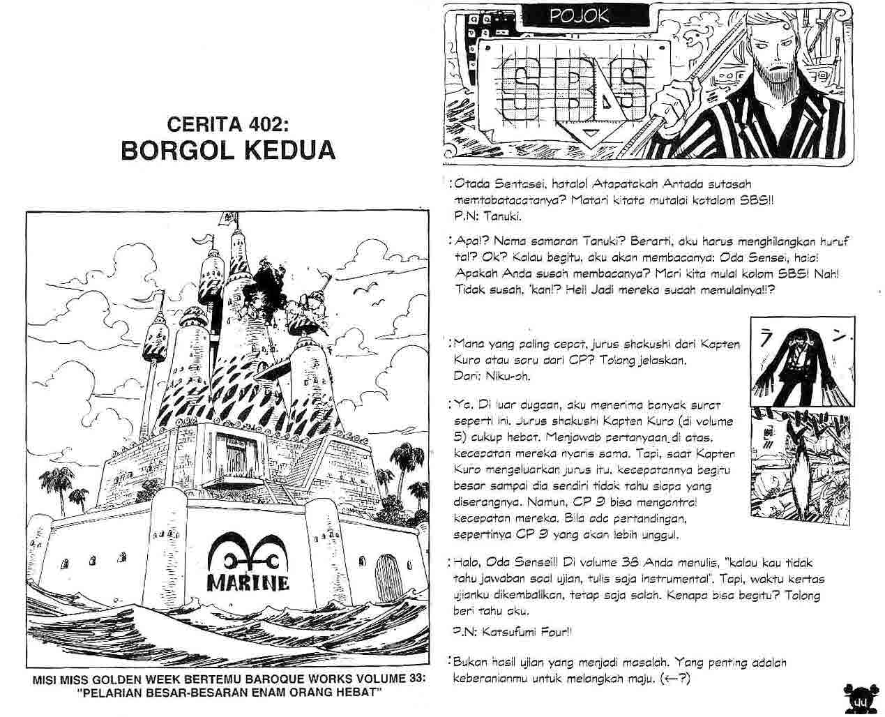 One Piece Chapter 402