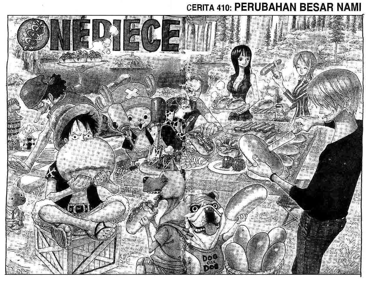 One Piece Chapter 410
