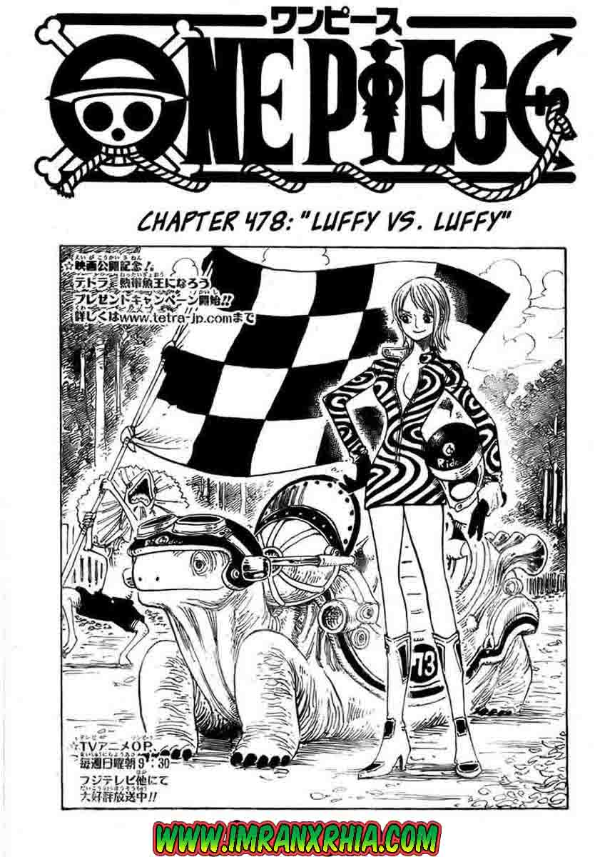 One Piece Chapter 478