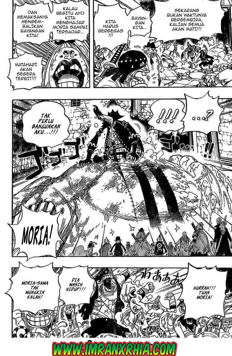 One Piece Chapter 481
