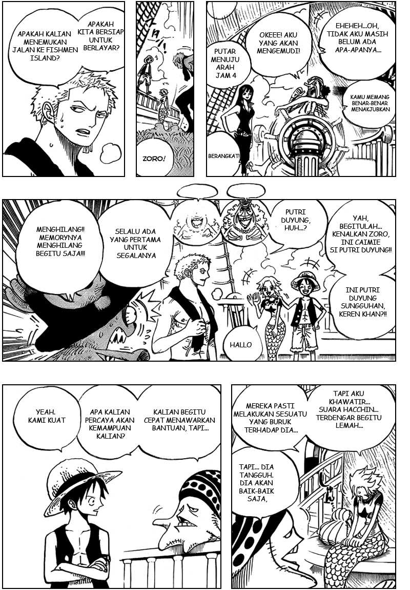 One Piece Chapter 491