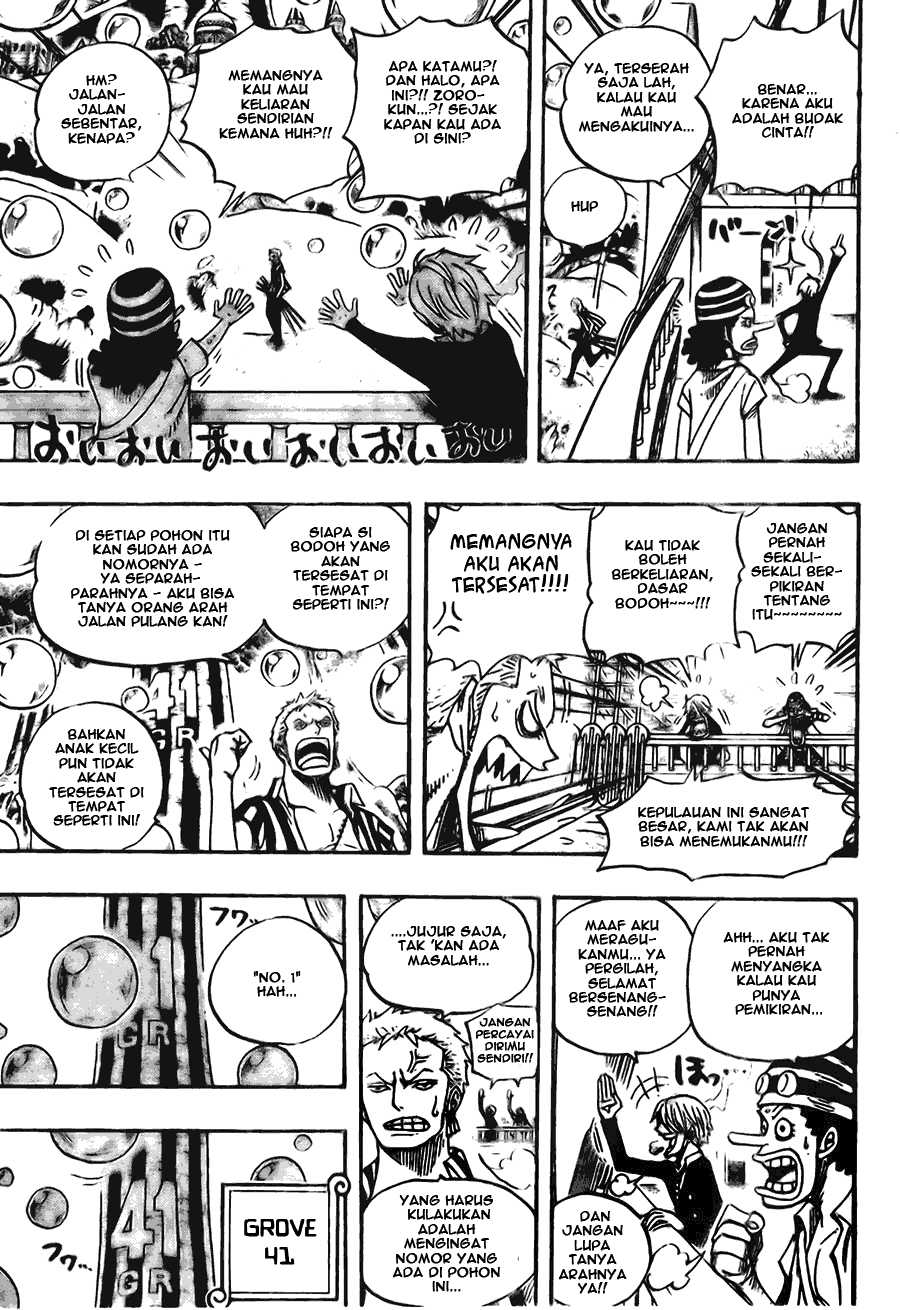 One Piece Chapter 497