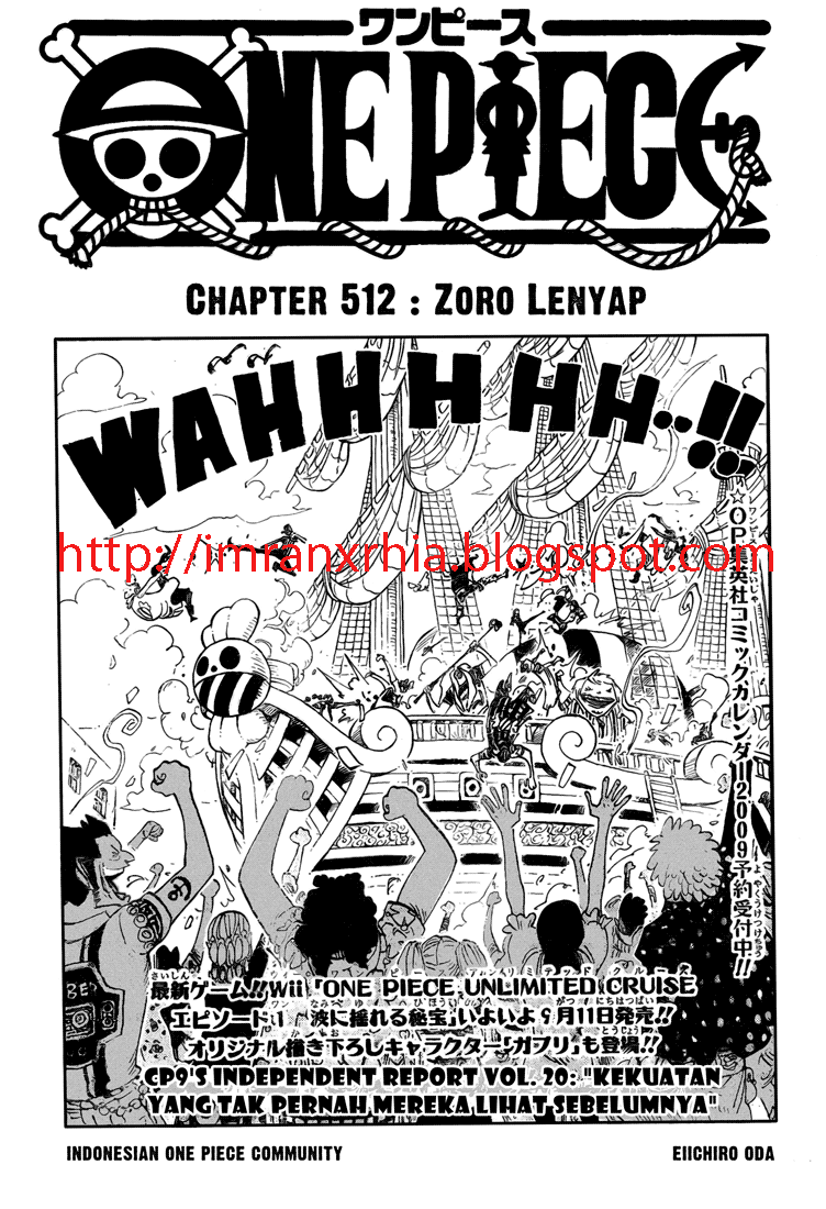 One Piece Chapter 512