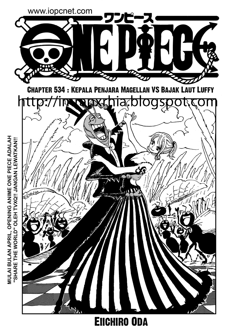 One Piece Chapter 534