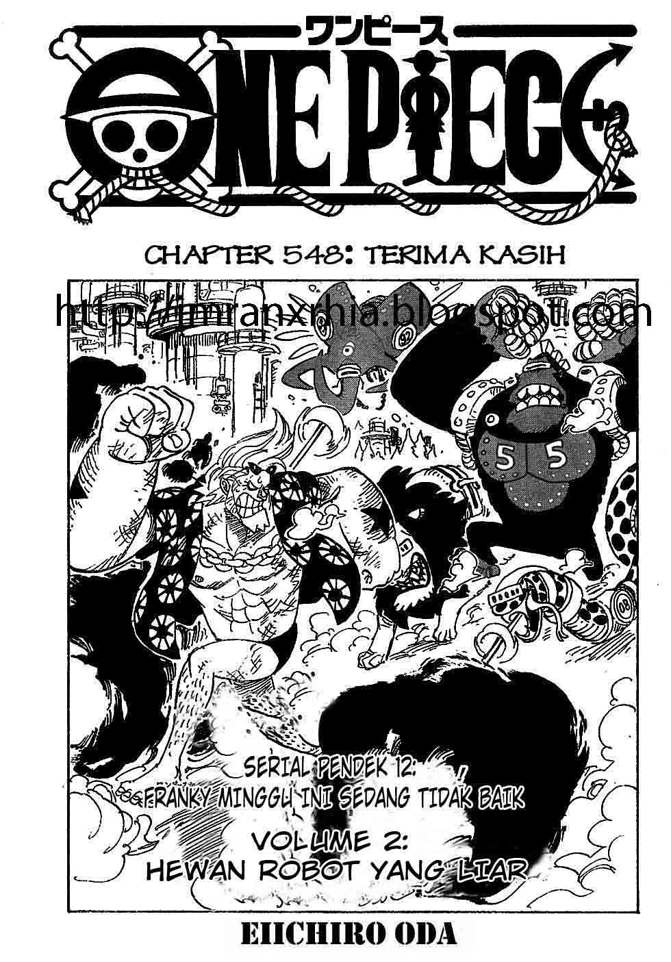One Piece Chapter 548