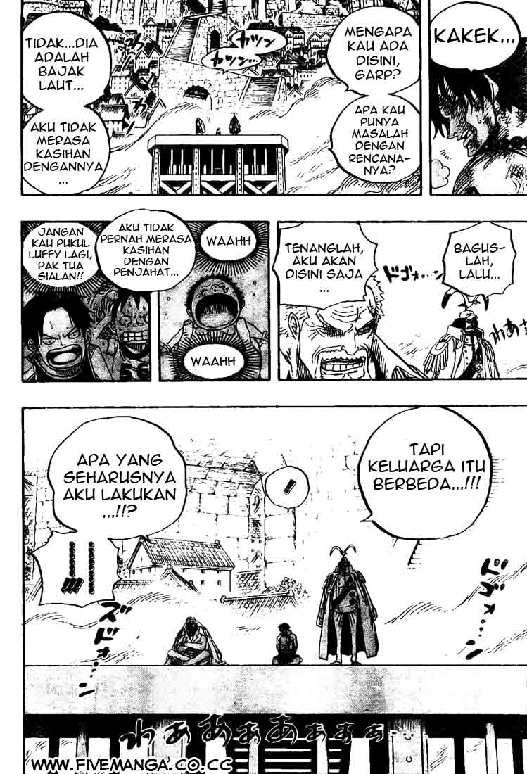 One Piece Chapter 556