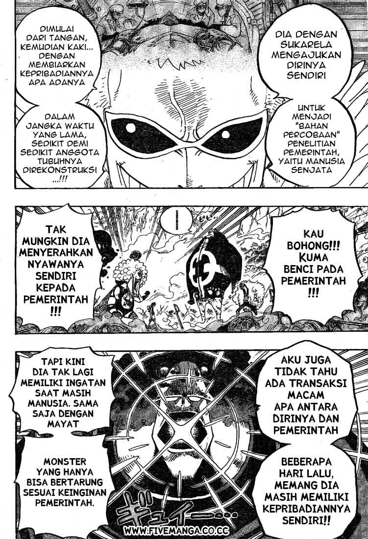 One Piece Chapter 560