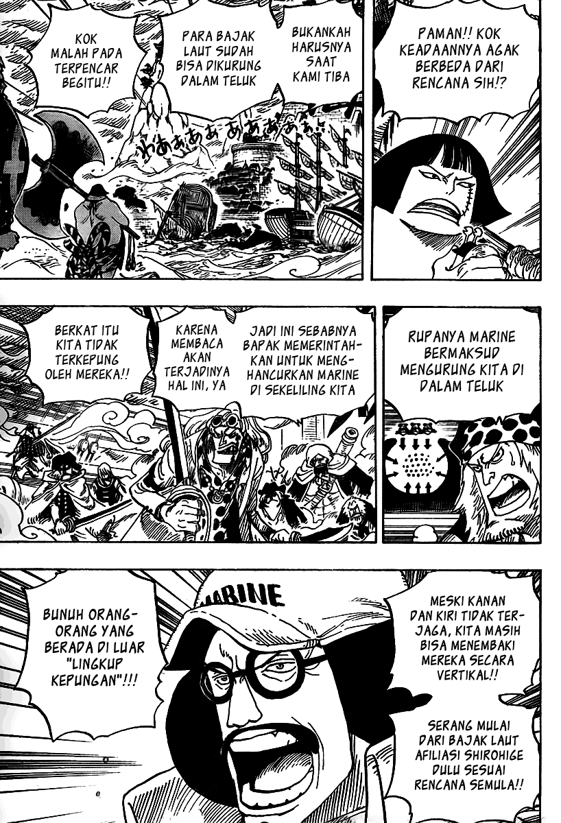 One Piece Chapter 562