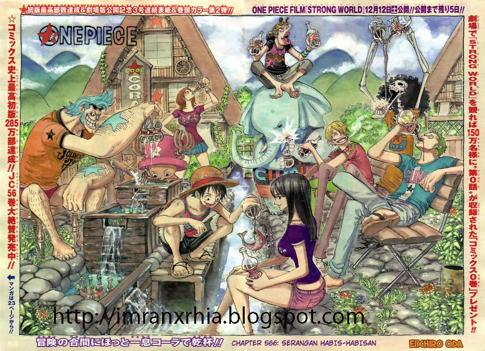 One Piece Chapter 566