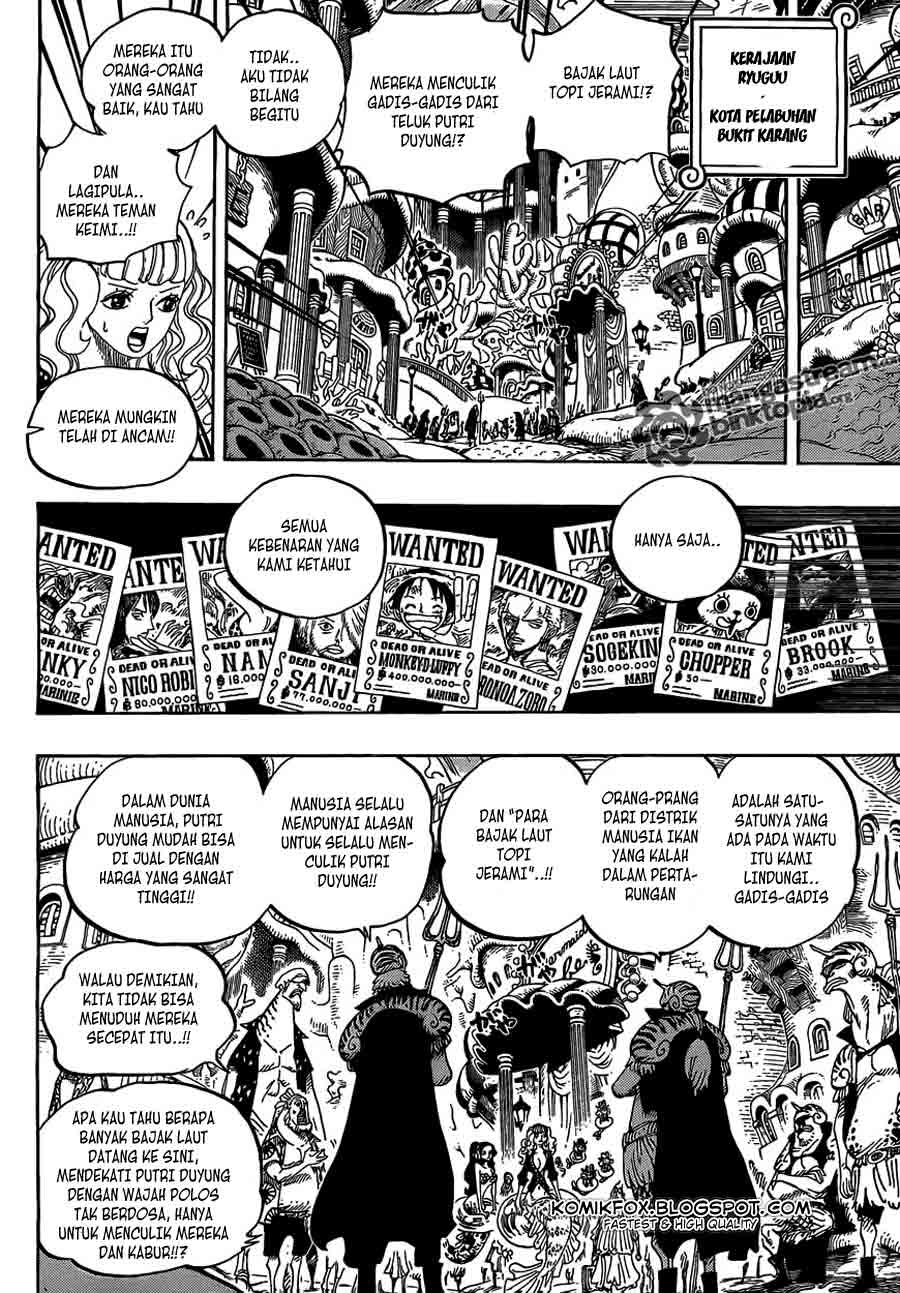 One Piece Chapter 612