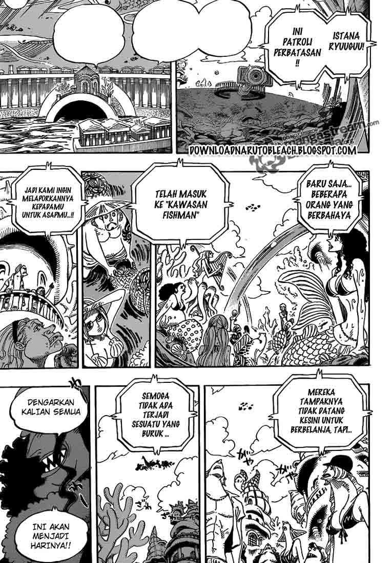 One Piece Chapter 616