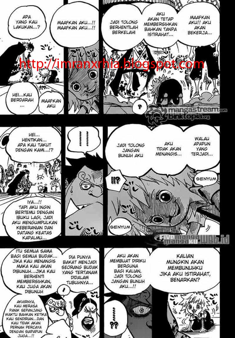 One Piece Chapter 622