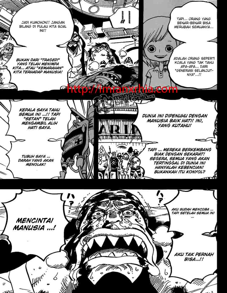 One Piece Chapter 623