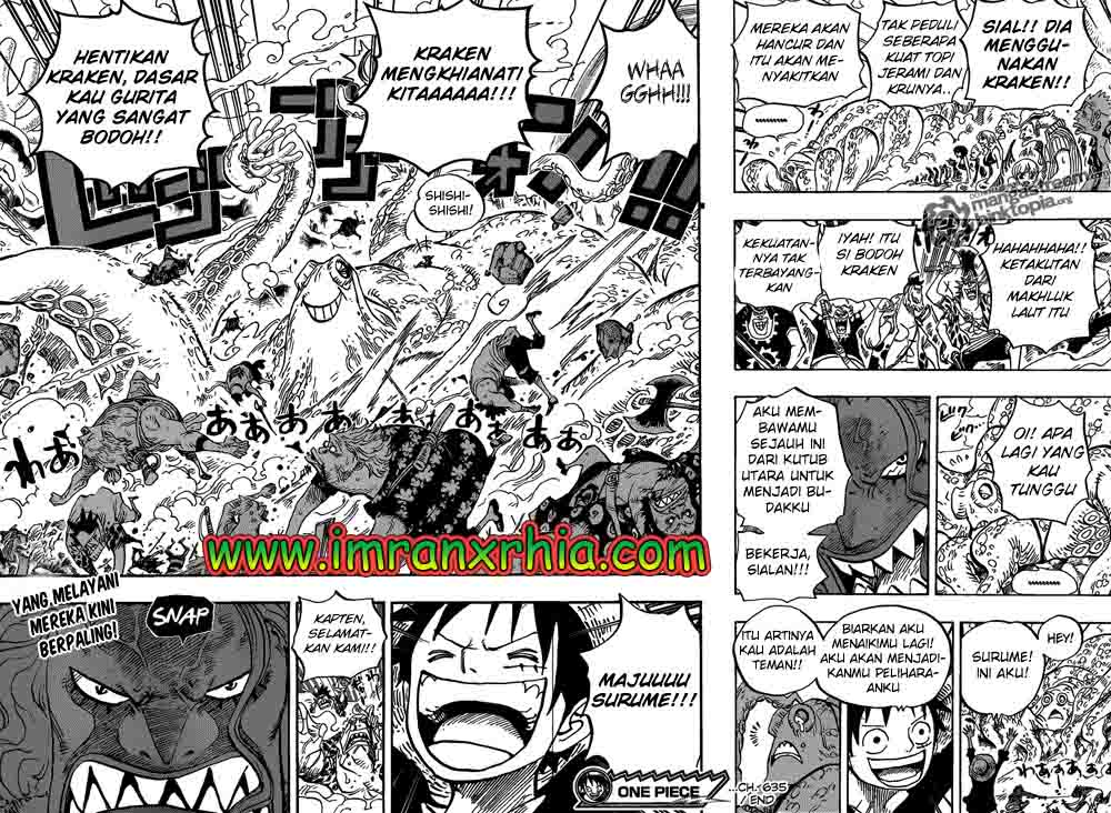 One Piece Chapter 635