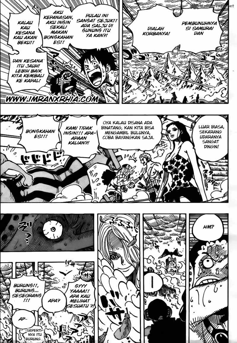 One Piece Chapter 657