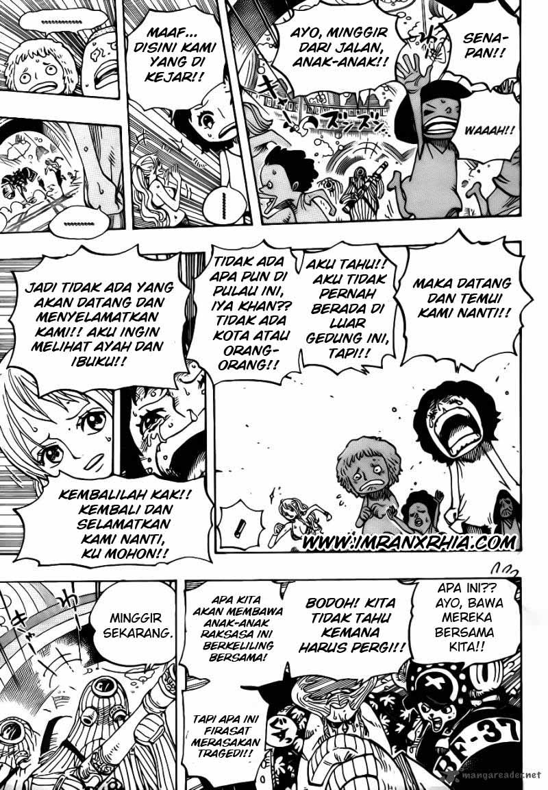 One Piece Chapter 658
