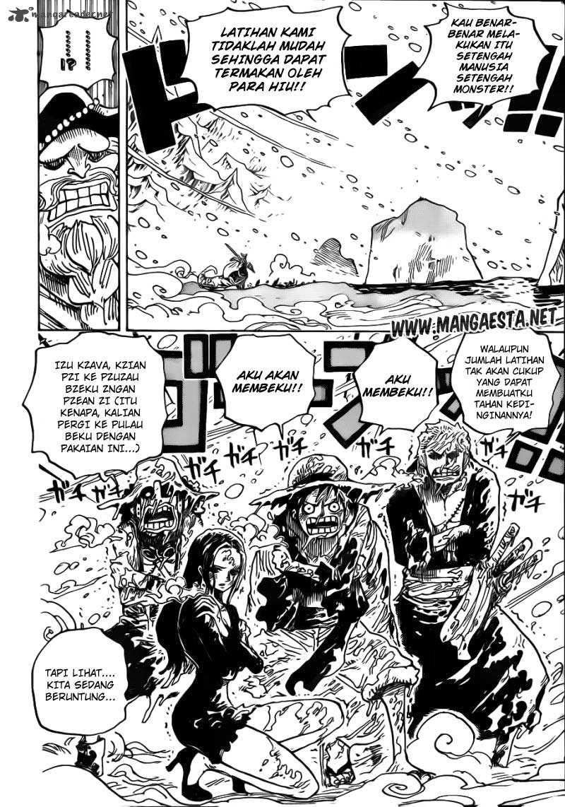One Piece Chapter 661
