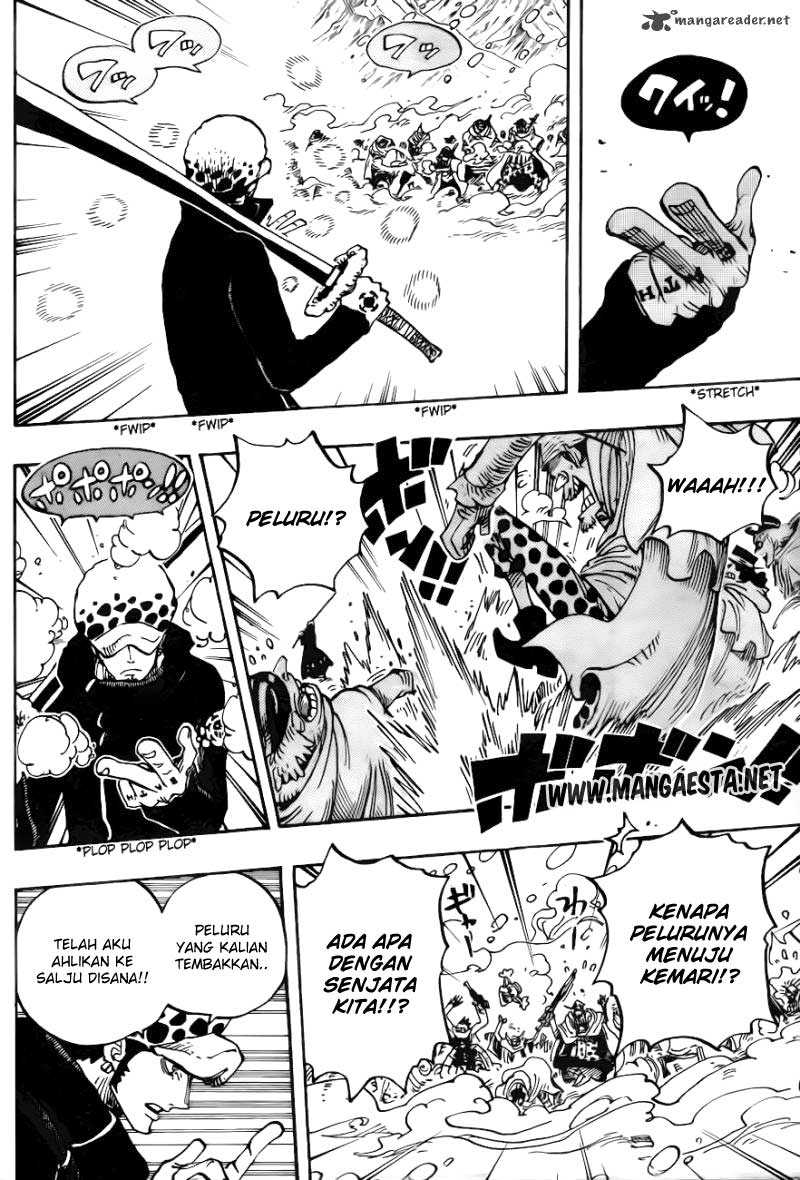 One Piece Chapter 662
